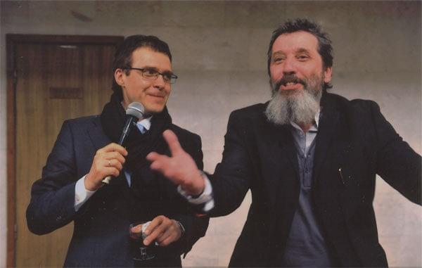 С Борисом Мильграмом на премьере спектакля Фото - Борис Семавин